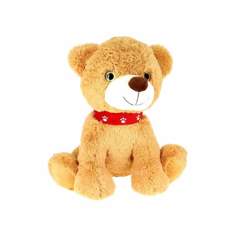 Pleuche ours avec collier 48CM