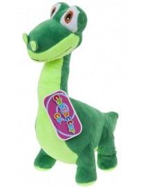 Peluche dinosaure vert 35CM