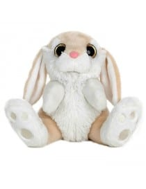 LAPIN BEIGE YEUX BRILLANTS...