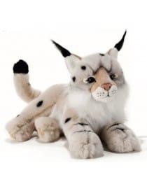 Peluche lynx 40 cm