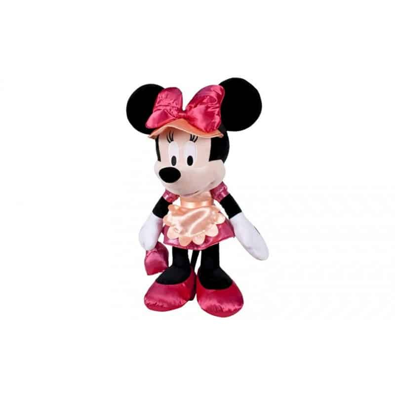 Minnie robe rose et casquette 30cm