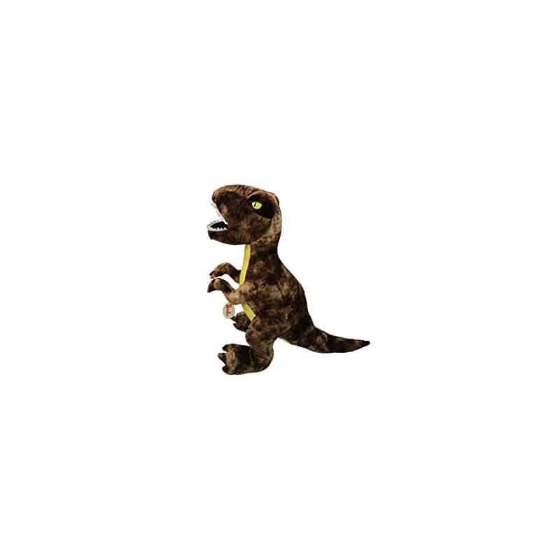 Peluche tyrannosaurus rex marron 30 cm