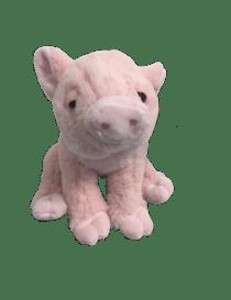 Peluche cochon rose de 25 cm