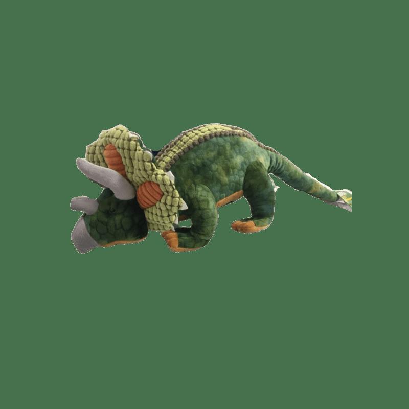 Peluche dinosaure Triceratops de 63 cm