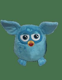 Peluche furby bleu 20 cm