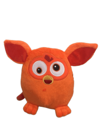 Peluche furby orange 20 cm