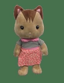 Peluche chat en robe farm...