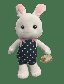 Peluche lapin blanc en...
