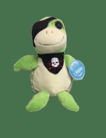 Peluche tortue pirate de 32 cm