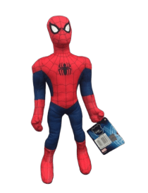 Peluche spiderman debout 25 cm