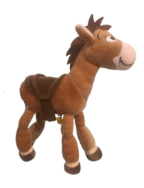 Pilpoil cheval toy story 20 cm